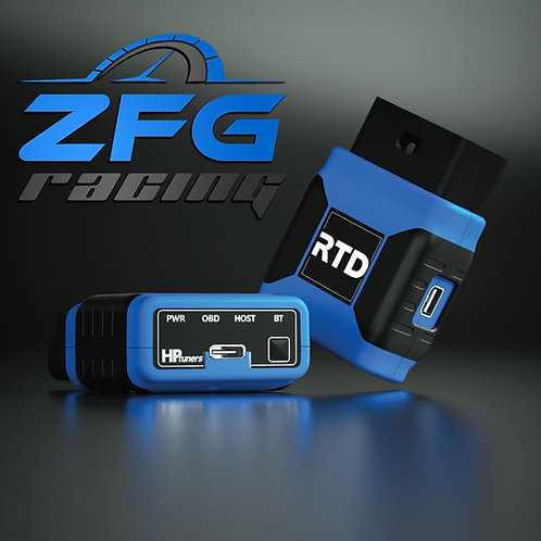 DEALER ONLY ZFG Racing Custom Tune + HP Tuners RTD Standard