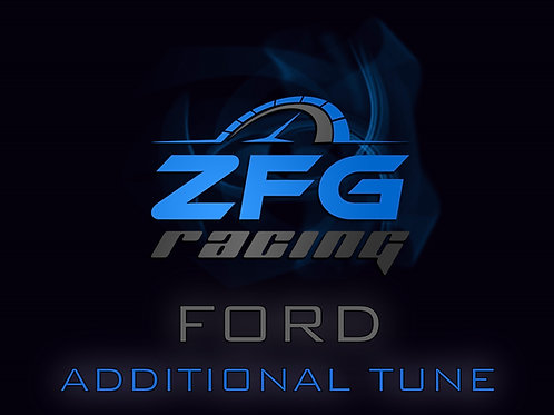 ZFG Racing Ford Additional Tune