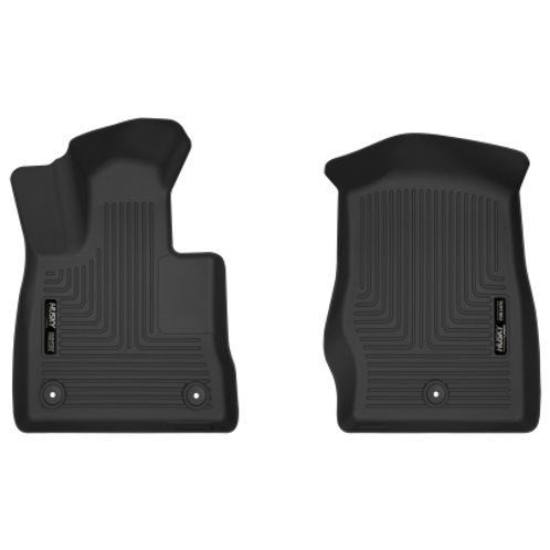2020 Ford Explorer Husky Liners X-Act Contour Black Front Floor Liners