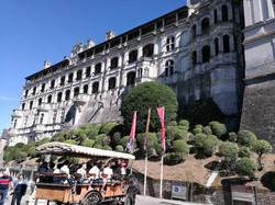 Face extérieure du Château