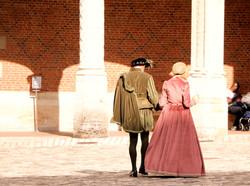 Fête costumée au Château