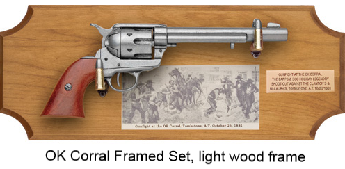 Old West Six-Shooter Replicas