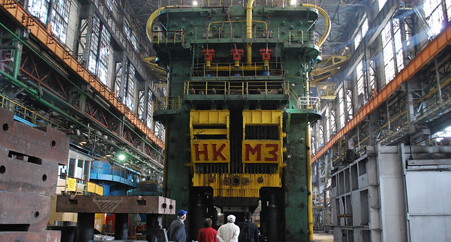 hydraulic press titanium