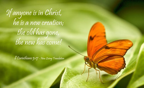 What does it mean that a Christian is a new creation (2 Corinthians 5:17)?