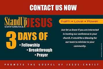 StandUp For Jesus Conference