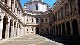Borromini: Sant'Ivo alla Sapienza, Rome