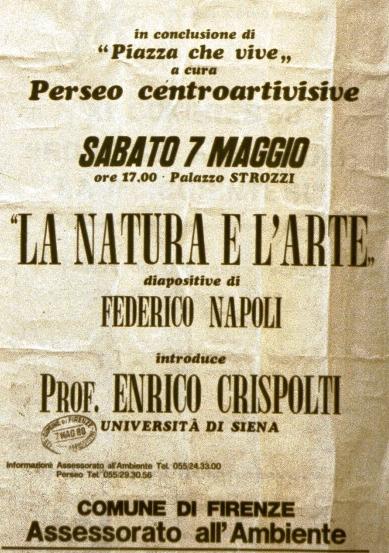 """Manifesto di """"La Natura e l'Arte"""""""