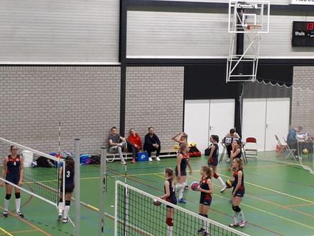 Winterkampioenen bij Nesselande, Meisjes C op Open Club