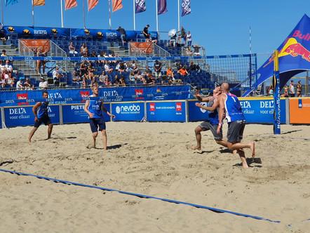 Spelers RECO-ZVH behalen zevende plaats op het NK Beach