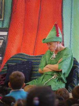 Depressed Peter Pan