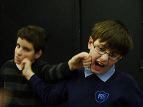 Anti bullying workshop in primary school