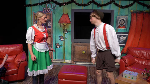 Hansel and Gretel Argue