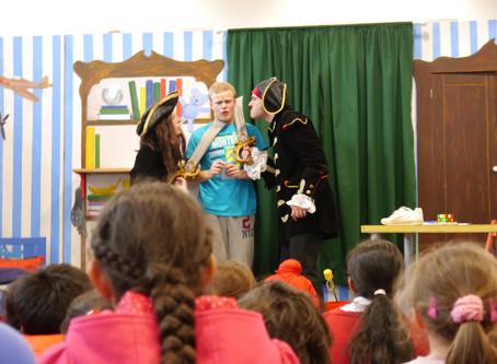 Literacy Christmas Show on tour