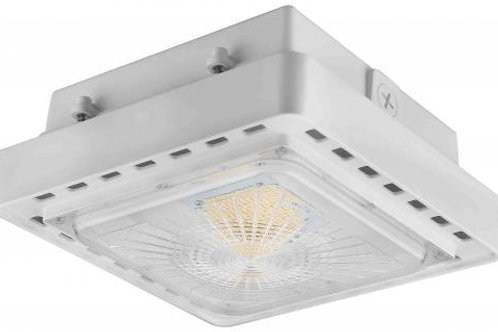 LED Canopy Light - 100W - 12,708 Lumens - DLC Standard - UL Listed - 4K/5K - 120