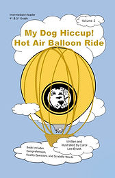 My Dog Hiccup Hot Air Balloon Ride Text
