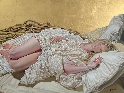 """""""Golden Haze"""" Giclee Fine Art Print"""