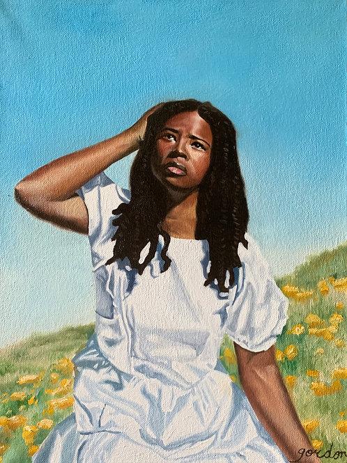 """Flower Hills"" Giclee Fine Art Print"