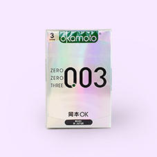 오카모토 0.03 플레티늄 초박형 콘돔