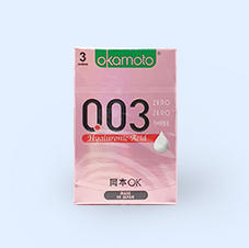 오카모토 0.03 히알루론산 초박형 콘돔