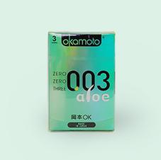 오카모토 0.03알로에 초박형 콘돔