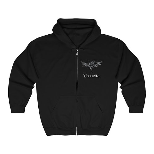 Charetta Icon Double Sided Hoodie! With - Full Zip!