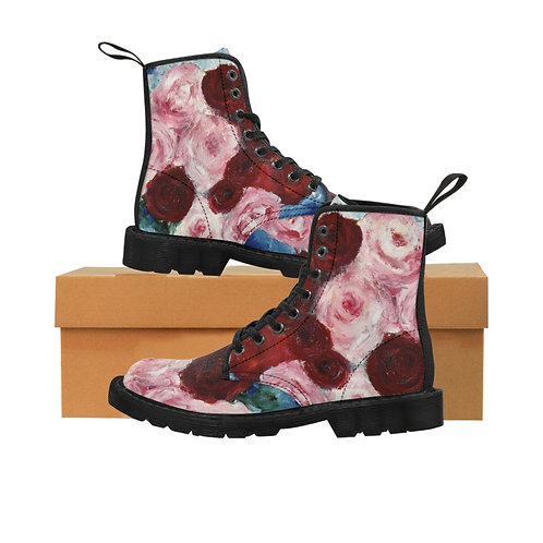 """""""Survival of the Fittest"""" Women's Canvas Boots"""