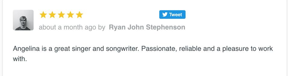 Reviews Songwriting, Singing