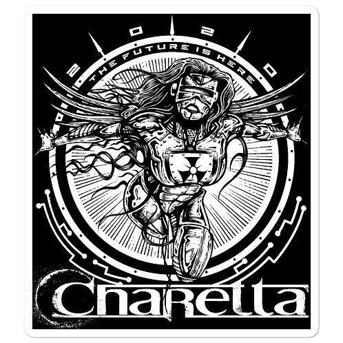 """Charetta """"2020 the Future is here"""" Bubble-free stickers"""