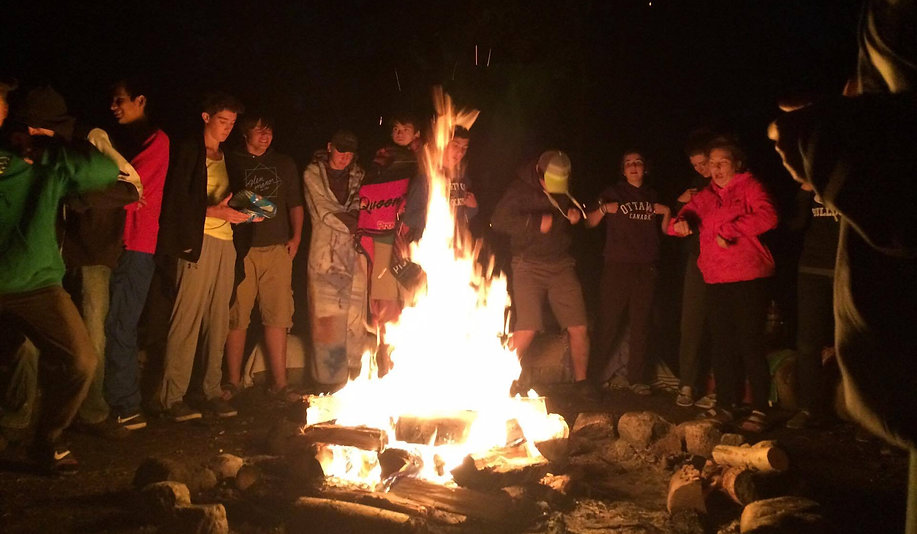 Kenosee Lake Bible Camp Teen Campfire