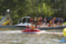 Summer Camp Tubing at Kenosee Lake Bible Camp
