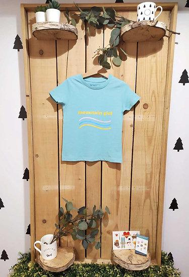 TELLY - Tee shirt émeraude enfant