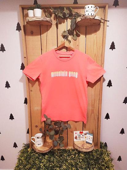 TANG PASTEL FLUO- Tee shirt PINK FLUO