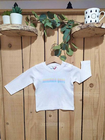 TANG PASTEL - Tee shirt blanc bébé