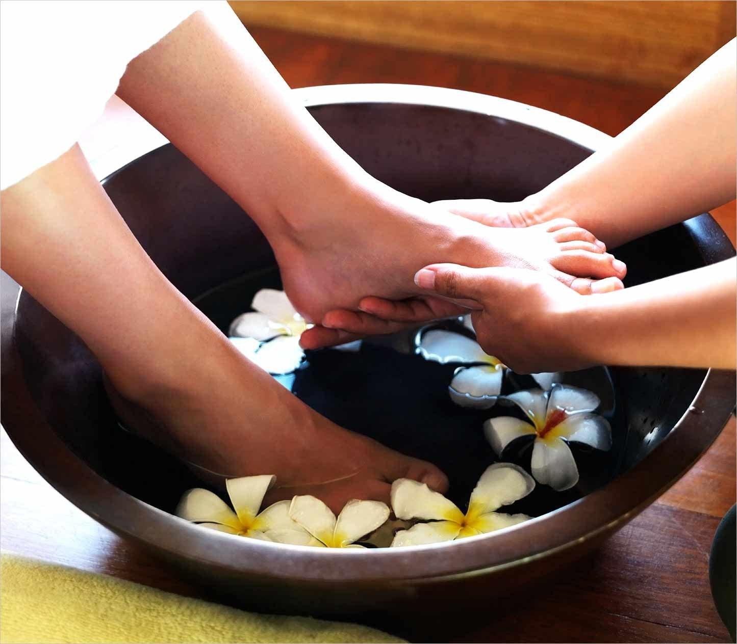 Contrast Hand or Foot Bath