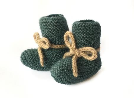 Super Soft Newborn Hat & Booties