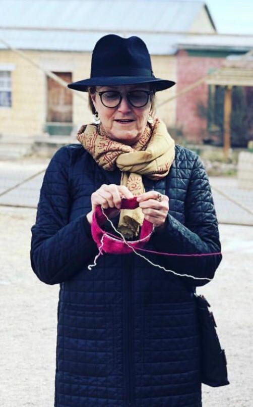 knittin' around town