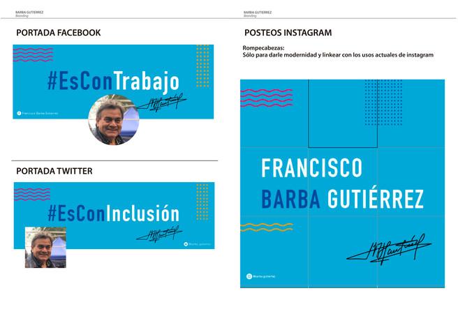 Branding Barba Gutiérrez