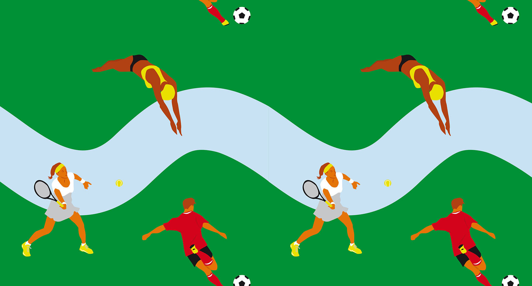 Trama deportiva