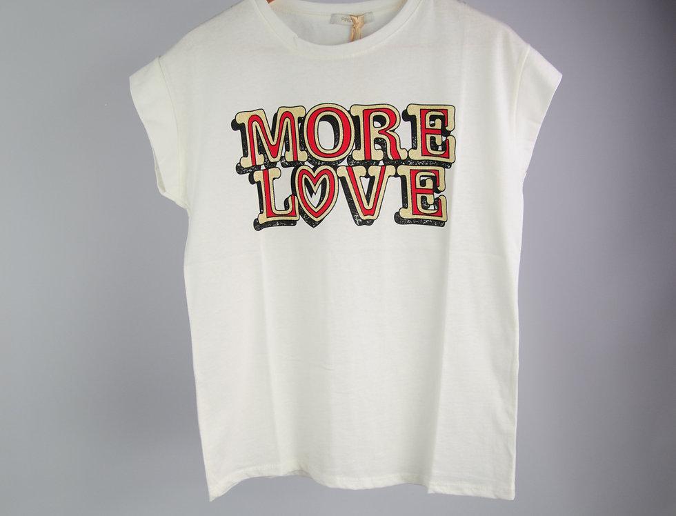 T-Shirt MORE LOVE