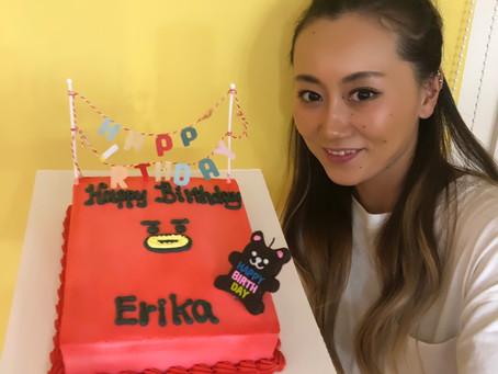 happy birthday erika🎉