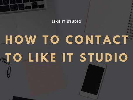 ご予約に関して皆様へのお願い📣announcement about how contact to Like iT