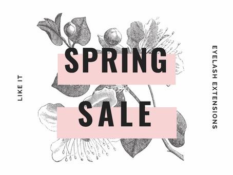 spring sale soon🌸お待たせいたしました!