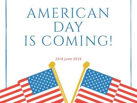 americanday coming🇺🇸アメリカンデーの営業について