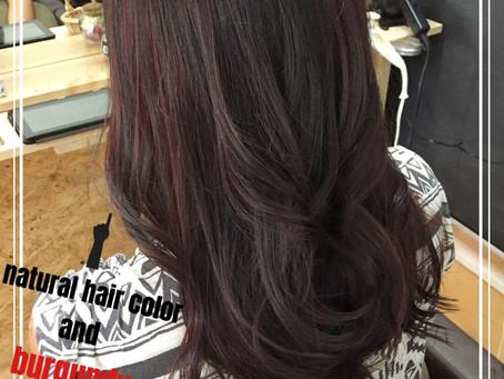 hair colored by YUKI
