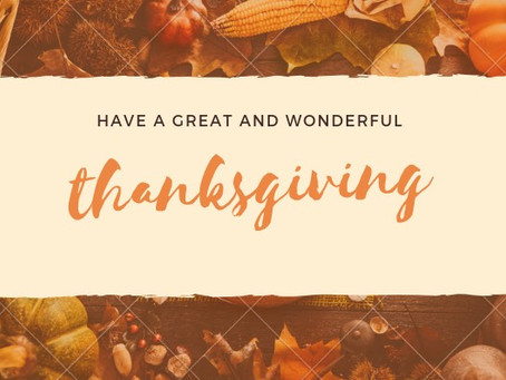 happy thanksgiving!🍴✨