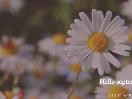hello september ✈︎