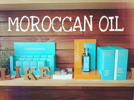 MOROCCAN OIL is here!