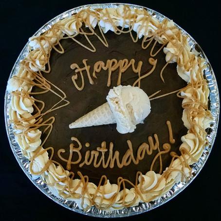 Birthday pies, wedding treats & more!