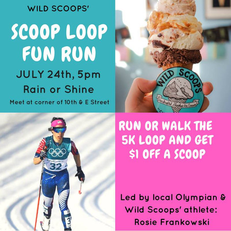 Olympic Scoop Loop this Tuesday!