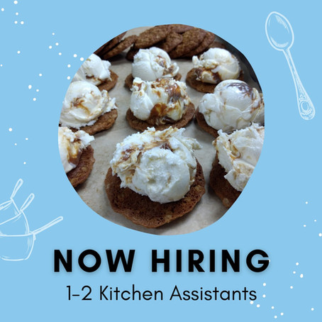 Now Hiring: Kitchen Assistant